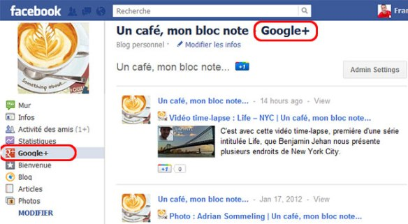 GooglePlus for pages
