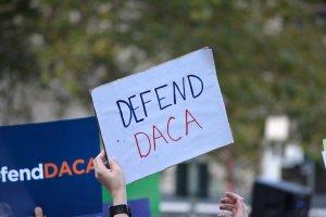Defend DACA sign