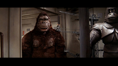 Yeah... King Kong really looks like that in this movie... (1967 Toho)