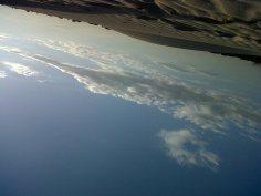 Nubes pasando