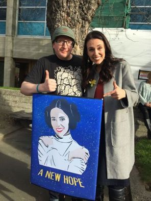 Ardern Leia star wars