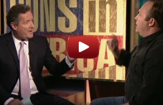 Piers Morgan debates Alex Jones on Gun Control
