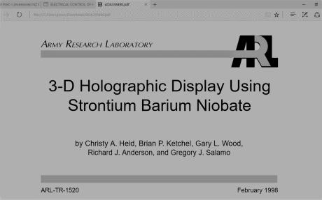 Strontium Barium Nobiate