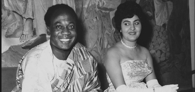 Fathia Nkrumah the Egyptian Born first Lady of Ghana:Road to Stardom