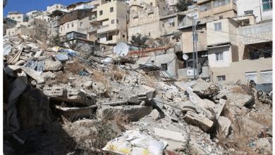 Palestinian buildings demolished by Israel