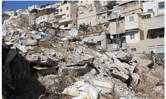 Palestinian buildings demolished by Israel