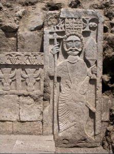 bas relief of Sumuyafa Ashwa