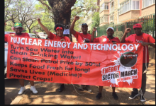 Nehawu Nuclear Power debate