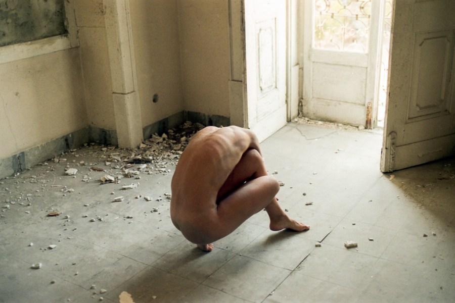 A Nu e a Cru Joana Silva Uncertain Magazine Film Photography