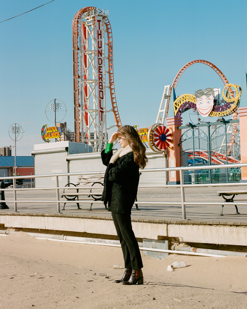 Alex Michael Kennedy Grace Dougherty Coney Island Uncertain Magazine Film Photography