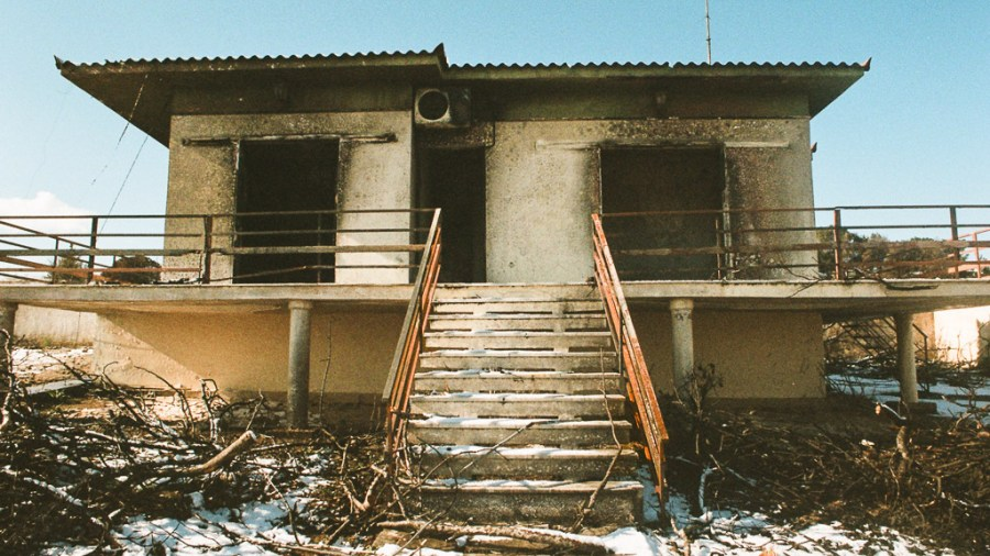 Lilena Marinou 6 Months After The Fire Uncertain Magazine Film Photography