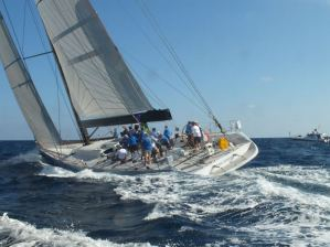Start of the rolex middle sea race