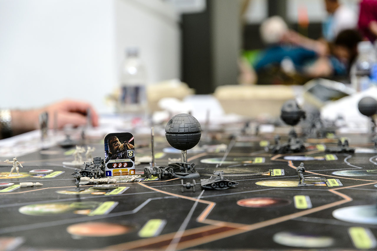 tabletop gaming at kublacon an essay in pictures uncertainty playing the imperials meant you could have two death stars and a host of other units hunting down the rebel scum the rebels meanwhile engage in hit and
