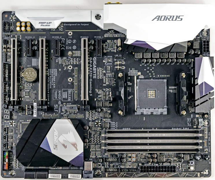 Gigabyte AX-370 Gaming 5 Motherboard