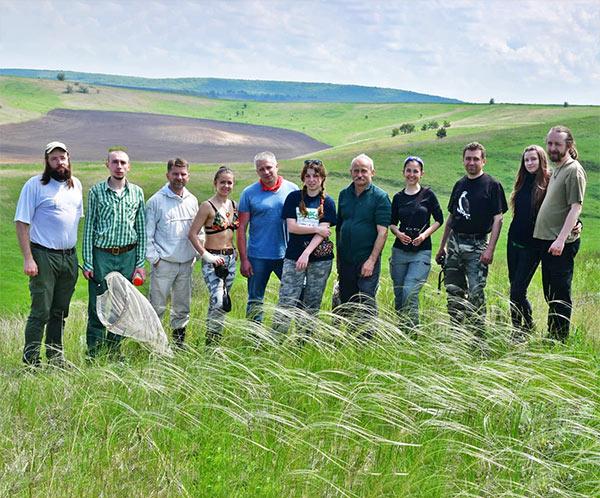 Українська природоохоронна група дослідження в степах