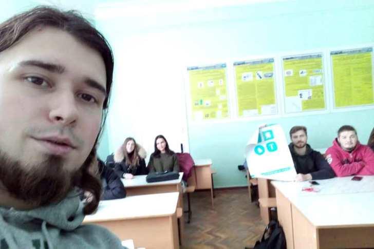 """Лекція про долучення молодих спеціалістів до розробки мережі """"Emerald"""""""