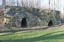 Dual Lime Kilns at the Historic Poole Forge
