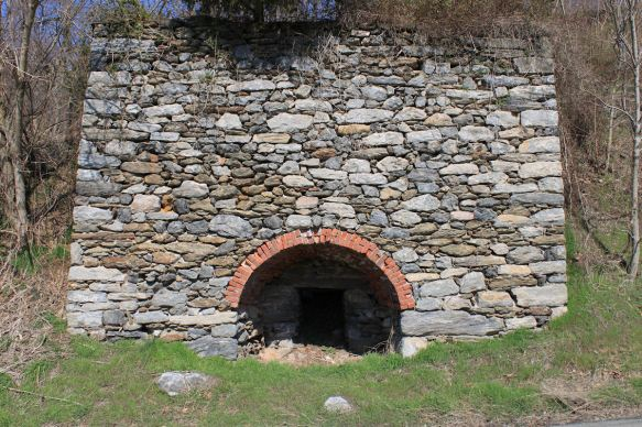 This Lime Kiln is literally on the edge of Route 324 near Climbers Run.