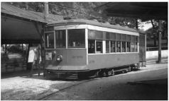 This was the trolley that made the last run from Lancaster to Rocky Springs Park.