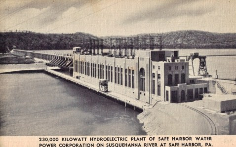 Safe Harbor Dam