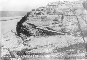 Site of Conestoga Manor and Sub Station 1904 Ice Freshet