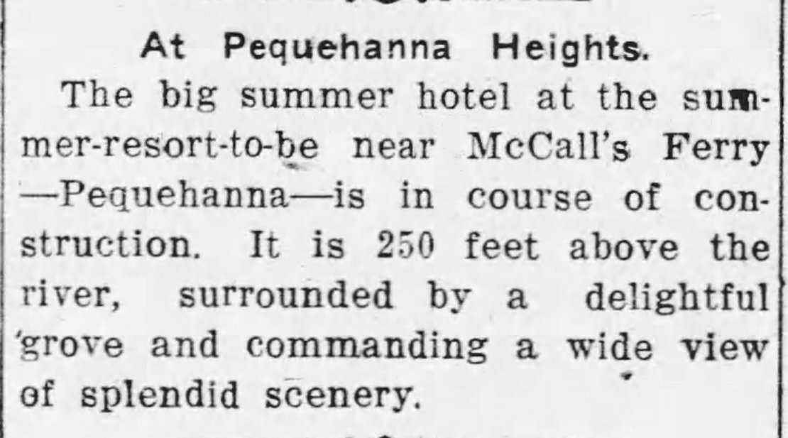 Article from The Inquirer on Saturday, August 19, 1911.
