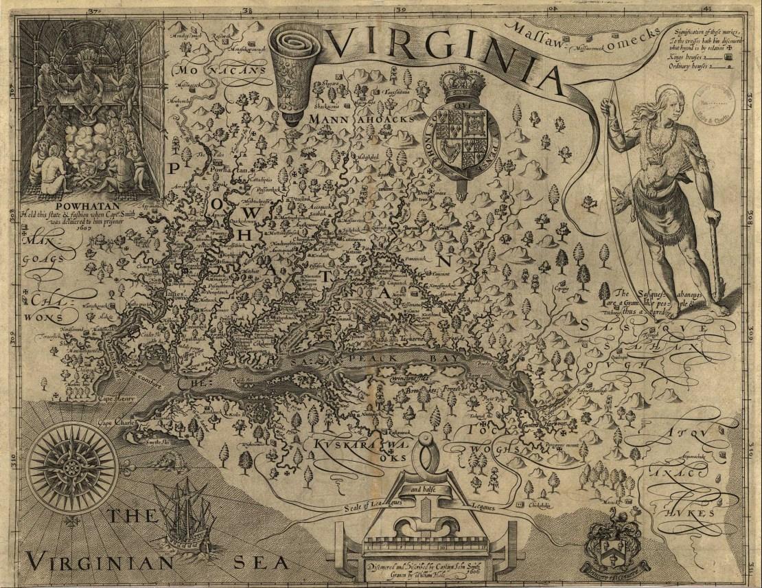 John Smith Map, 1612