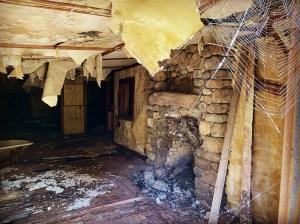 Interior room of Aiden Lair Lodge.