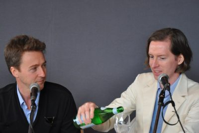 wes anderson and ed norton