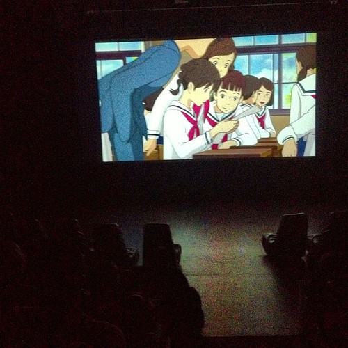 from up on poppy hill screening