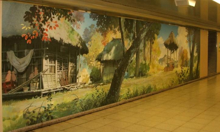 pom poko mural