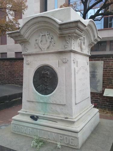 poe memorial grave