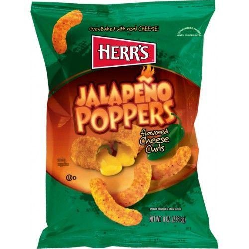 herr s jalapeno poppers cheese curls 7oz 199g 637