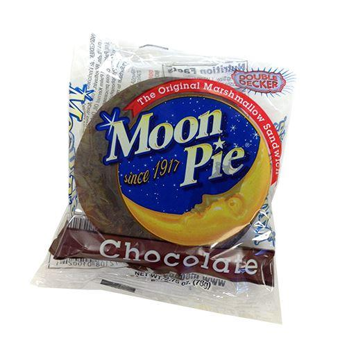 all city candy double decker chocolate moonpie 275 oz candy bars chattanooga bakery moonpies 1 piece