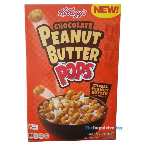Kelloggs Chocolate Peanut Butter Corn Pops Cereal