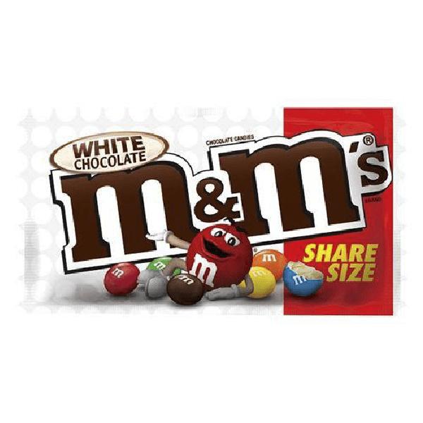 M&M's White Chocolate Share Size