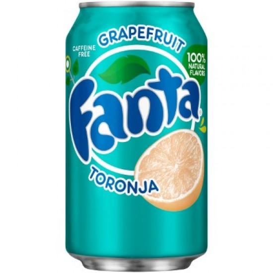 Can of Fanta Grapefruit