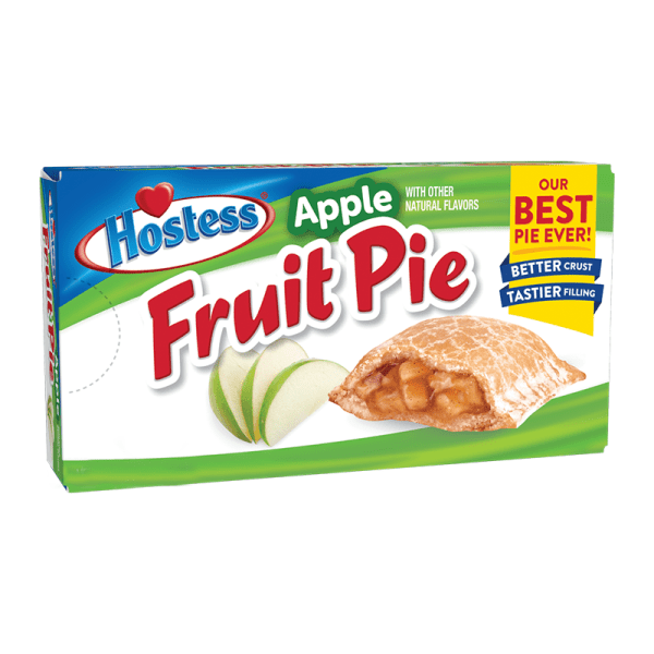Box of Hostess Apple Fruit Pies