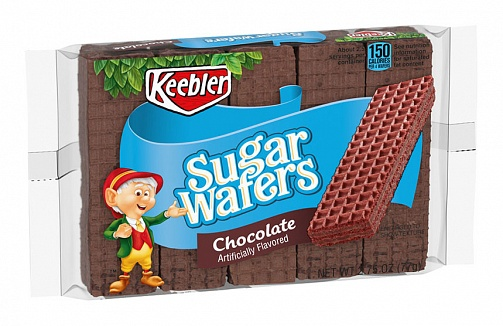 keebler sugar wafers chocolate