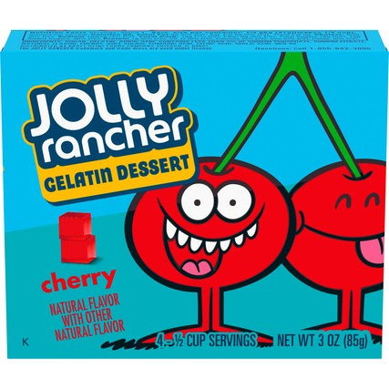 Jolly Rancher Gelatin Dessert Cherry