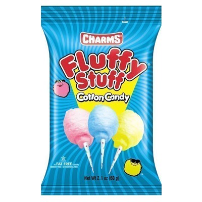charms fluffy stuff cotton candy