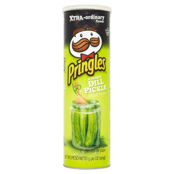 Screamin' Dill Pickle Pringles Xtra