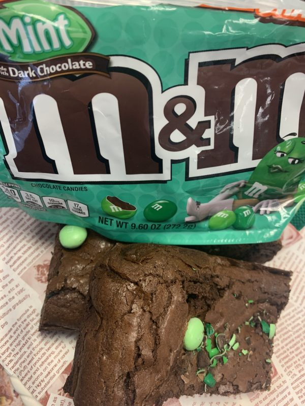 Nana Chunks Mint M&M Brownies 6oz