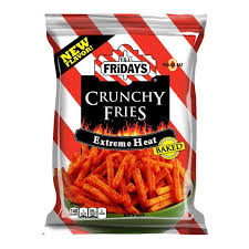 TGI Friday Extreme Heat Crunchy fries