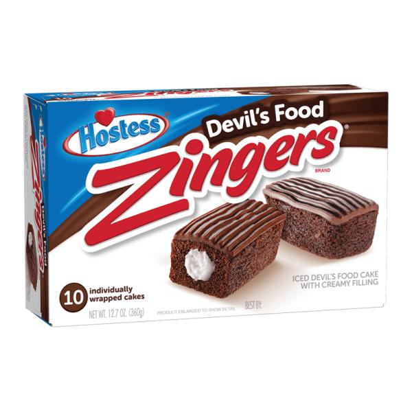 Hostess Zingers Cakes