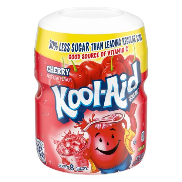 Kool Aid Cherry Mix Tub