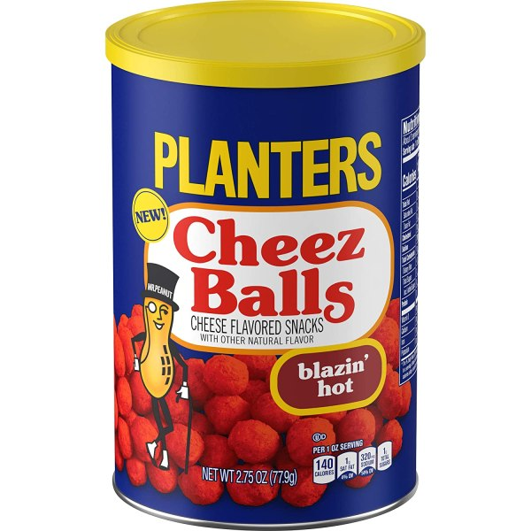 Planters Cheez Balls Blazin Hot 78g