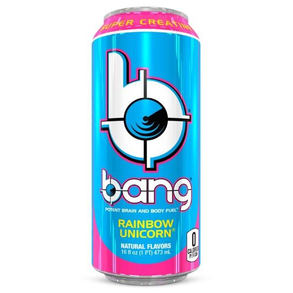 Can of Bang Energy Rainbow Unicorn