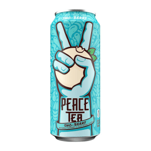 Can of Peace Tea Sno Berry flavour