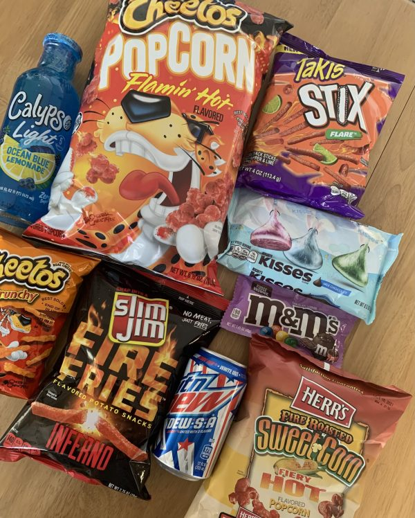 Sweet Heat Bundle of treats and drinks